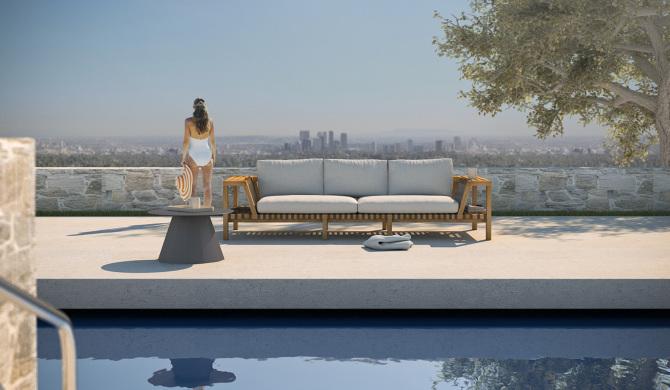 RODA Network Sofa 130 - Tristan Gruet / designing, modeling, rendering